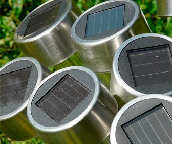 lamparas de celdas solares