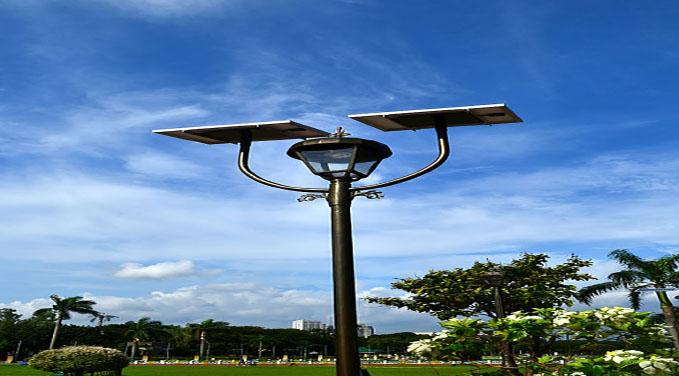 L mparas y luminarias solares para el alumbrado p blico Iluminacion para jardines energia solar