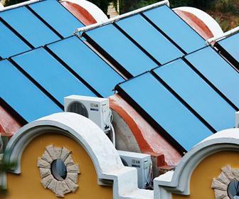 captadores solares termicos
