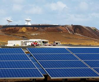 celdas solares isla ascension