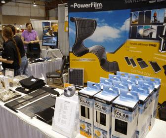 cargador con panel solar flexible