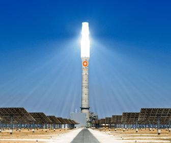 que es una torre solar