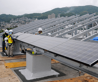 inclinación de un panel solar