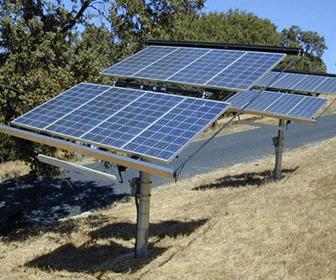 paneles solares de doble eje