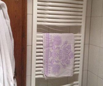 toallero calefactor