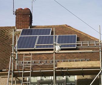 Aprovechamiento de energía solar en el hogar