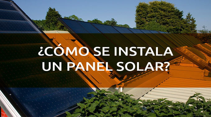 como-se-instala-un-panel-solar