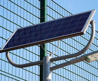 Instalacion con panel solar